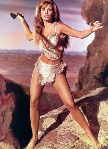 THE 25 MOST MEMORABLE SWIMSUIT MOMENTS - Raquel Welch, pictured, in her fur thing in One Million Years BC