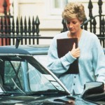Mandatory Credit: Photo by BRENDAN BEIRNE/REX/Shutterstock (234822a) PRINCESS DIANA WITH HER AUDI SOFT TOP MOTOR CAR PRINCESS DIANA ARRIVING AT THE HARBOUR CLUB IN CHELSEA, LONDON, BRITAIN