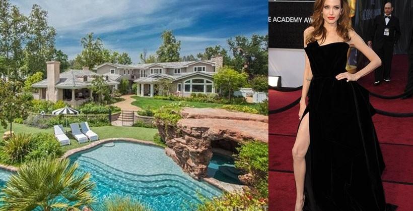 Photos Angelina Jolie S New House In Malibu