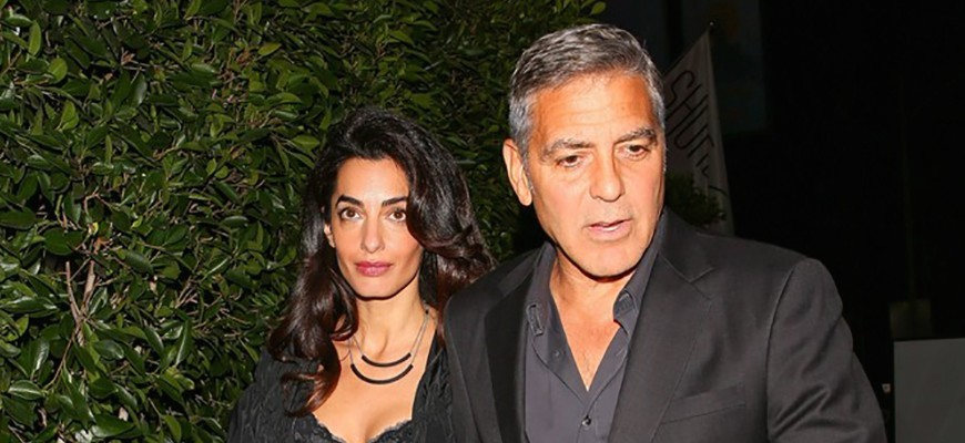 Amal Clooney and her cropped top (photo) | protothemanews com