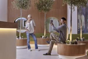 Olive Green Lobby