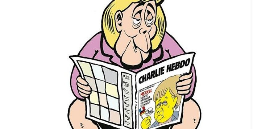 Image result for charlie hebdo german edition