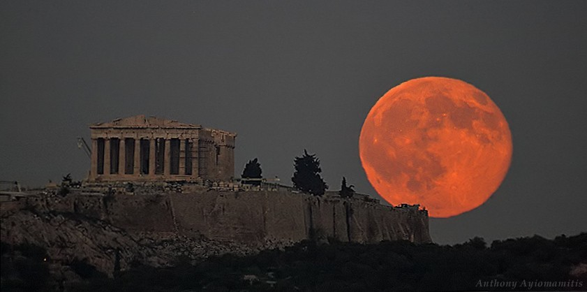 blood moon tonight greece - photo #11