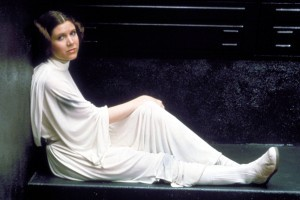 No Merchandising. Editorial Use Only. No Book Cover Usage. Mandatory Credit: Photo by Lucasfilm/20th Century Fox/REX/Shutterstock (5886297ff) Carrie Fisher Star Wars Episode IV - A New Hope - 1977 Director: George Lucas Lucasfilm/20th Century Fox USA Film Portrait Scifi Star Wars (1977) La Guerre des étoiles