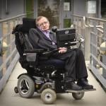 Professor Stephen William Hawking, CH, CBE, FRS, FRSA, at the Department of Applied Mathematics and Theoretical Physics, University of Cambridge..Photograph © Jason Bye.t:  07966 173 930.e: mail@jasonbye.com.w: http://www.jasonbye.com.