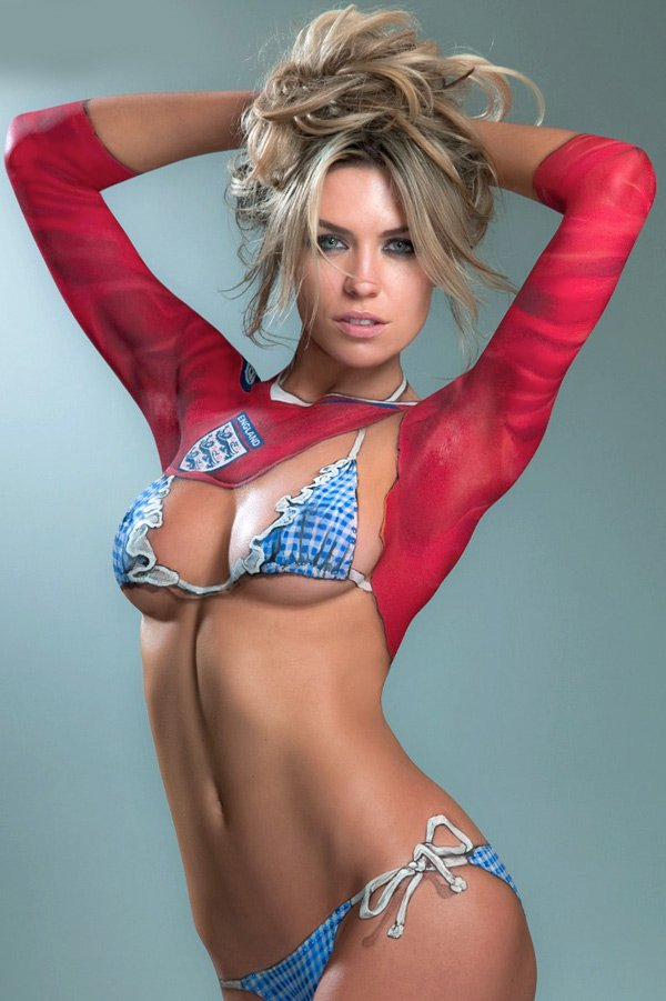 Body Paint Nude Hot#8