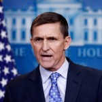 "FILE- In this Feb. 1, 2017, file photo, National Security Adviser Michael Flynn speaks during the daily news briefing at the White House, in Washington. President Donald Trump has yet to comment on the allegations that Flynn engaged in conversations with a Russian diplomat about U.S. sanctions before Trump's inauguration. A top aide dispatched to represent the administration on the Sunday, Feb. 12, news shows skirted questions, saying it was not his place to weigh in on the ""sensitive matter.""  (AP Photo/Carolyn Kaster, File)"