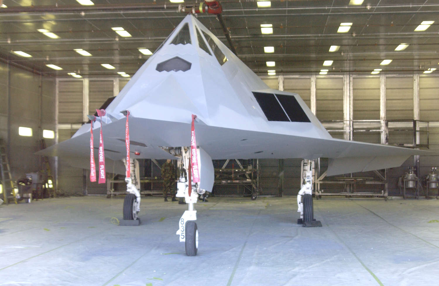 In 2008 The Air Force Officially Retired F 117s For Good However Service Kept A Number Of Aircraft So Called Type 1000 Storage At Tonopah