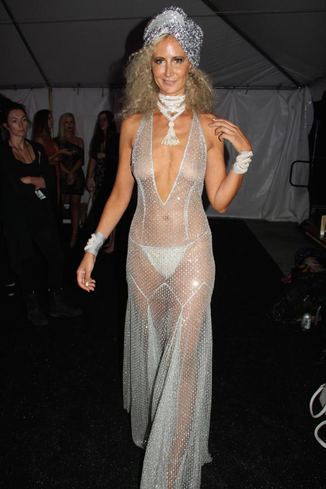 Lady Victoria Hervey Leaves Little To The Imagination