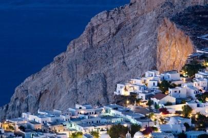 Greece, Aegean islands, Cyclades, Folegandros island, Mediterranean area, Mediterranean sea, Aegean sea, Travel Destination, Hora of Folegandros - Chora of Folegandros