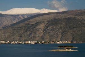 Itea and Parnassos Mountain, Greece