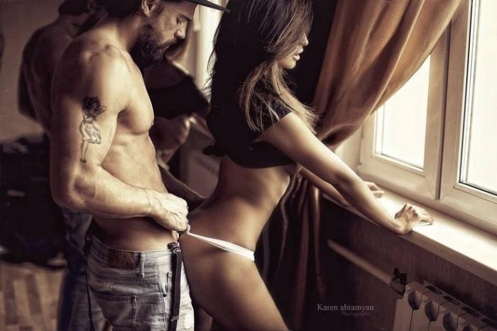 Сексуальные фото мужчины и девушки