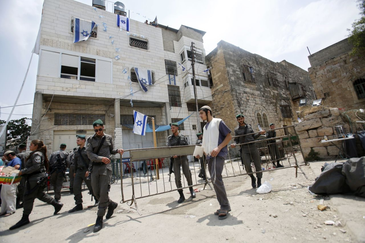 Jew Detector: The Latest: Palestinians Cheer After Israel Removes