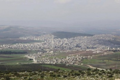 A general view shows the Kurdish city of Afrin, in Aleppo's countryside March 18, 2015. REUTERS/Mahmoud Hebbo