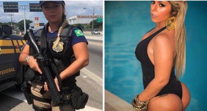 Remarkable, sexy girls police hotcops