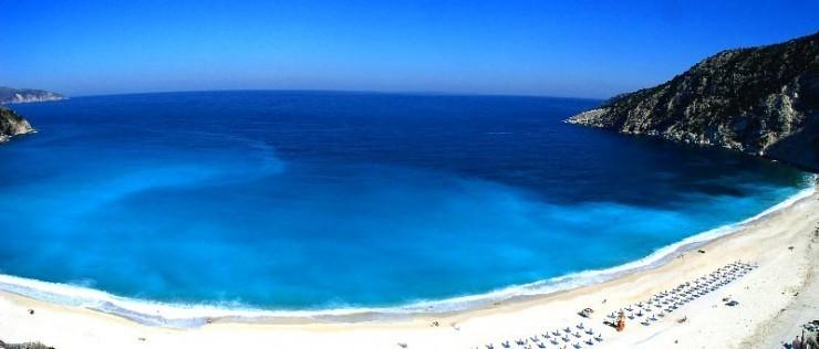 1. Myrtos Beach, Kefalonia