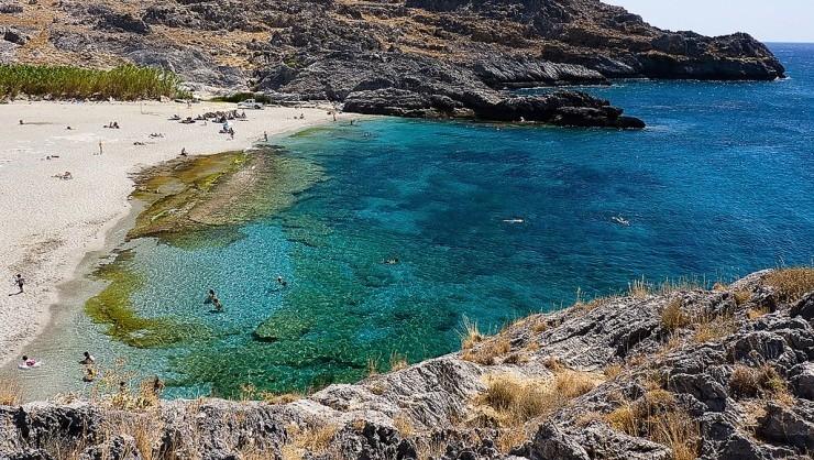 10. Amoudi Beach, Crete