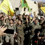 SDF Celebrates Raqqa Photo Beta 640