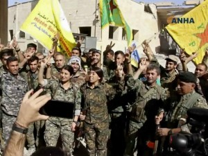 SDF Celebrates Raqqa Photo Beta 640