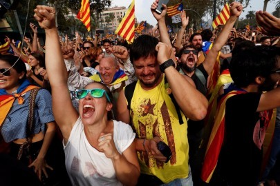 catalonia independence reaction