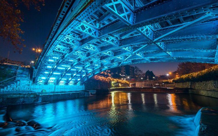 Lithaios River bridge trikala