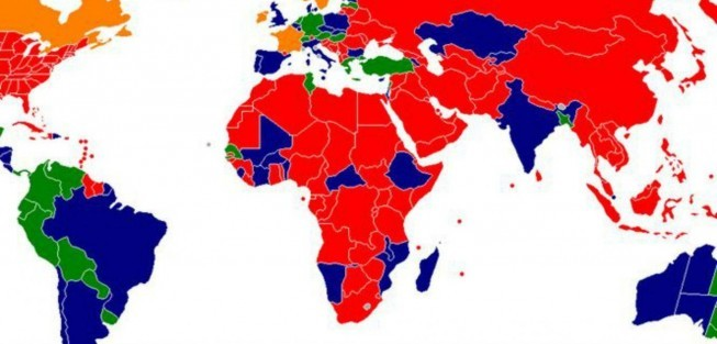 The world map of prostitution | protothemanews.com