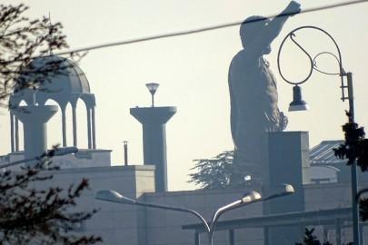 Skopje Statue by BIRN
