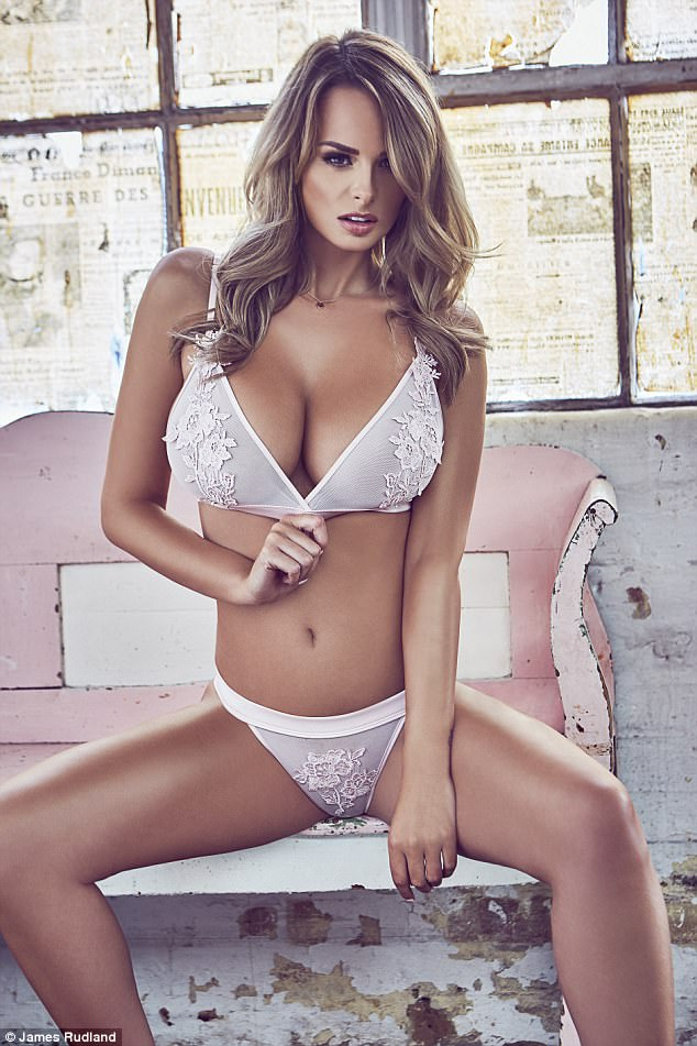 Sexy Rhian Sugden releases a new steaming-hot 2018