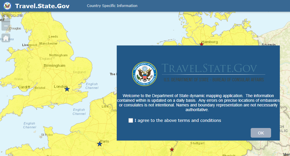 State Department Travel Advisory Greece