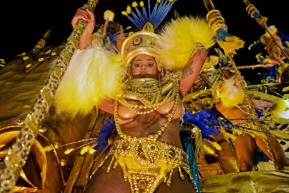 Rio Carnival 2018: The hottest outfits of the famous