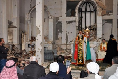 SYRIA-CONFLICT-CHRISTIANS-ORTHODOX