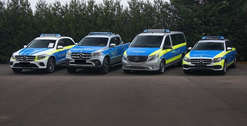 Mercedes Benz presents new police cars | protothemanews.com