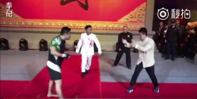 MMA fighter beats up Wing Chun master in China (real fight video