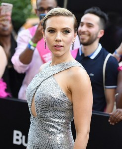 Scarlett Johansson attends the 'Rough Night' premeire at AMC Loews Lincoln Square on June 12, 2017 in New York City.  / AFP PHOTO / ANGELA WEISS