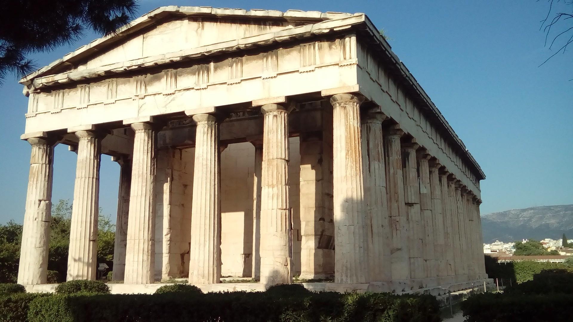 temple-of-hephaestus-1796430_1920