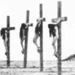 crucified armenian women1