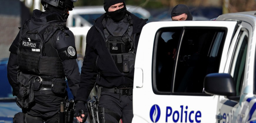 Two police officers & one civilian dead in Belgium shooting