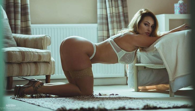 9a917fba51f Emma Cops  The hottest lingerie model there is! (10 HOT PHOTOS)