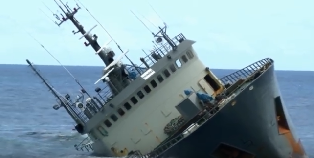 At least 2 killed off Turkish coast after cargo ship sinks