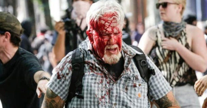 Disturbing Video Shows Antifa Attacking Elderly Man With