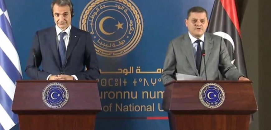 PM Mitsotakis in Libya: We want the cancellation of the Libya-Turkish memo | protothemanews.com